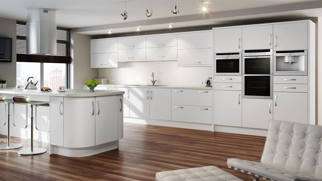 White Satin Kitchen