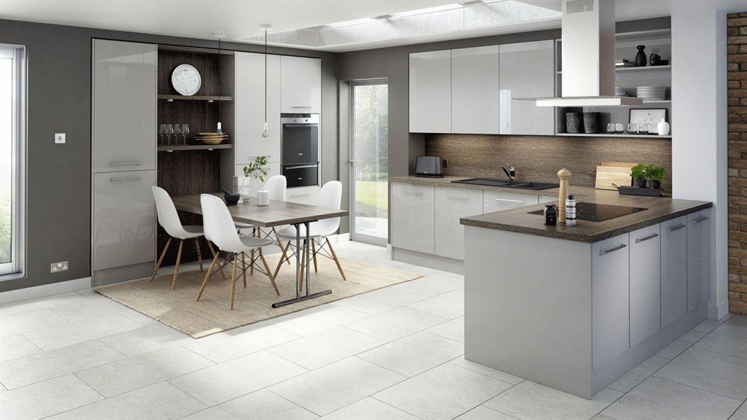Mattonella Gloss Light Grey Sheraton Modern
