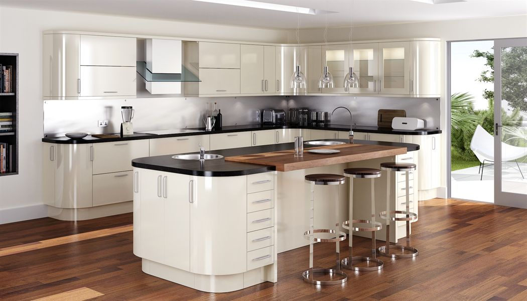 Mattonella Gloss Stone Kitchen