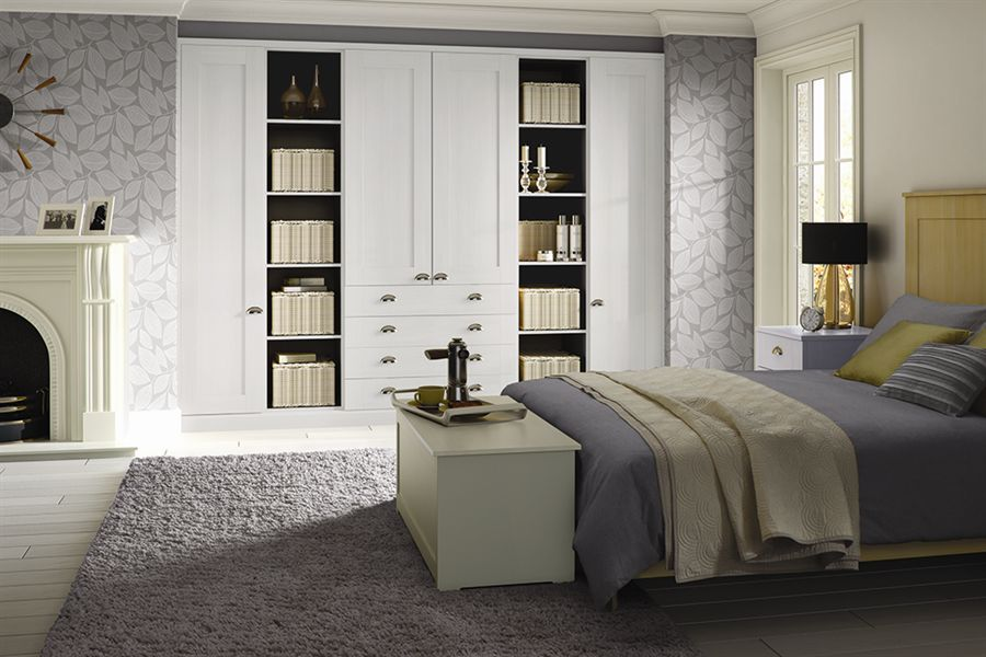 Pendle White Bedroom