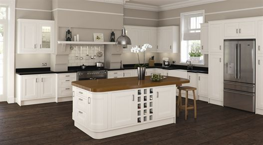 Ivory In-Frame Kitchen