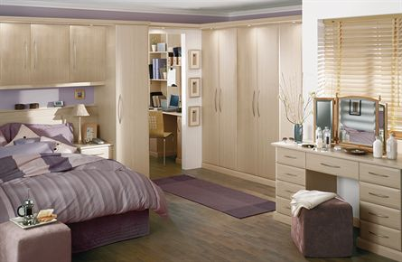 Ascot Ferrara Oak Bedroom