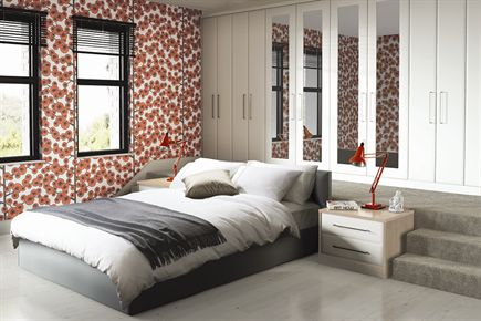 Ascot White Bedroom