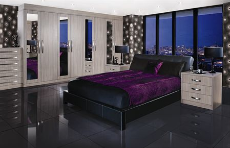 Avola Grey Bedroom